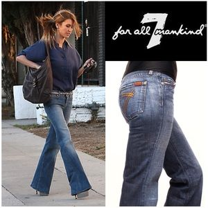 ✨HP✨ 7FAM Dojo Gold 7-pocket Jeans 29 x 30
